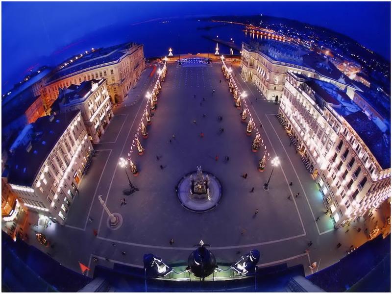 Piazza Unità d'Italia, Trieste, Italie
