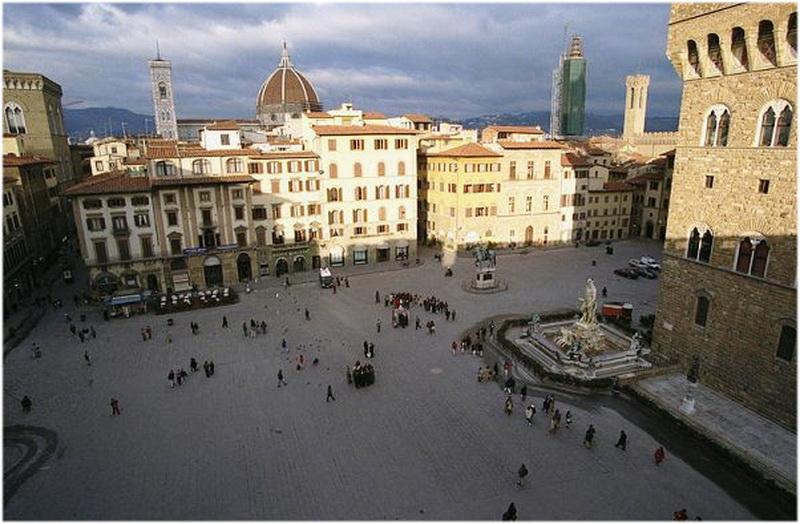 Piazza della Signoria, Florence, Italie