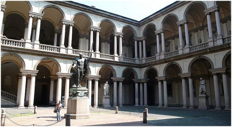 Pinacothèque de Brera, Milan, Italie