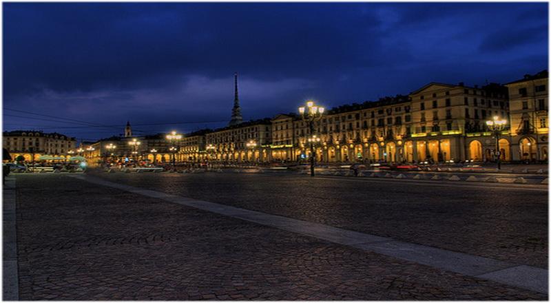 Place Vittorio Veneto, Turin, Italie