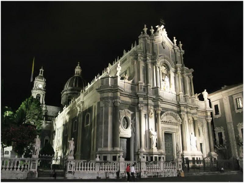 Saint Placide, Catane, Italie