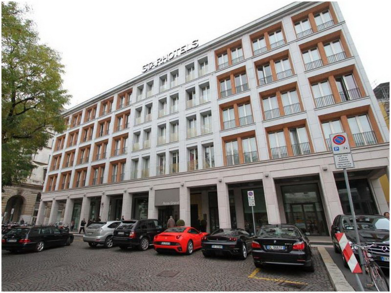 Starhotels Rosa Grand, Milan , Italie, Chambres