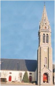 Surzur, Morbihan, Bretagne, France, monument-eglise