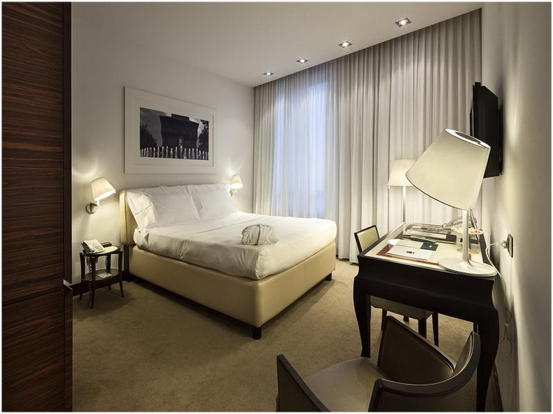 UNA Hotel Cusani, Milan, Italie, Chambres