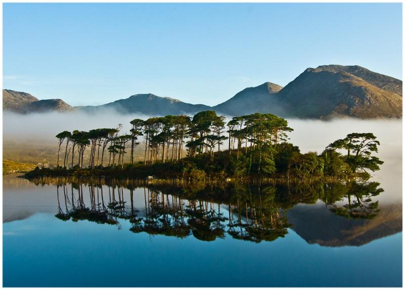 Un bout de lac du Connemara