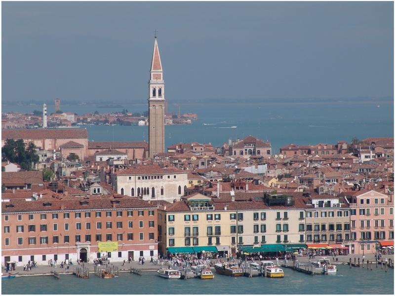 campanile San Francesco, Venise, Italie