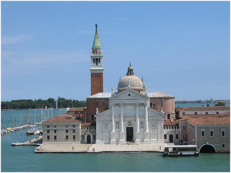 campanile San Giorgio Maggiore, Venise, Italie