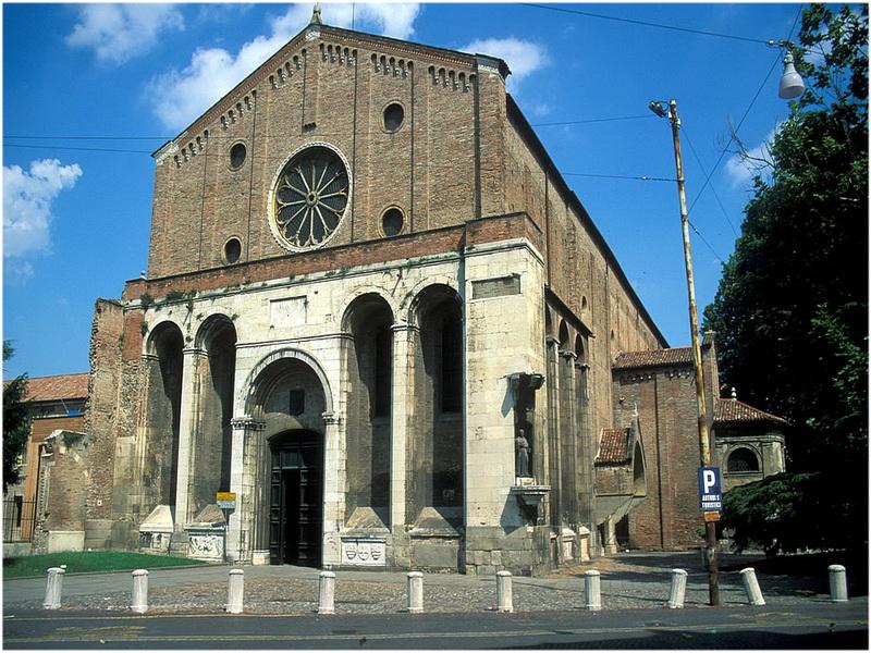 Église des érémitiques, Padoue, Italie