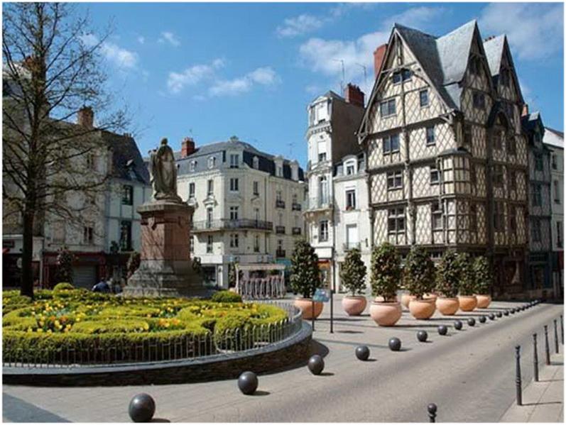 Angers maine et loire pays de la loire france cap voyage - Office de tourisme maine et loire ...