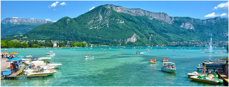 Annecy haute savoie rh ne alpes france cap voyage for Lake annecy hotels swimming pool