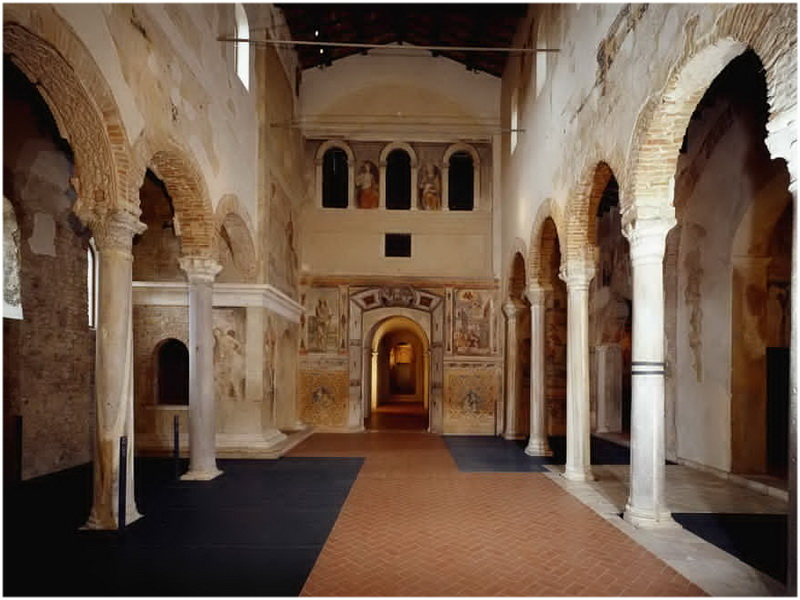 Basilique San Salvatore, Brescia, Italie