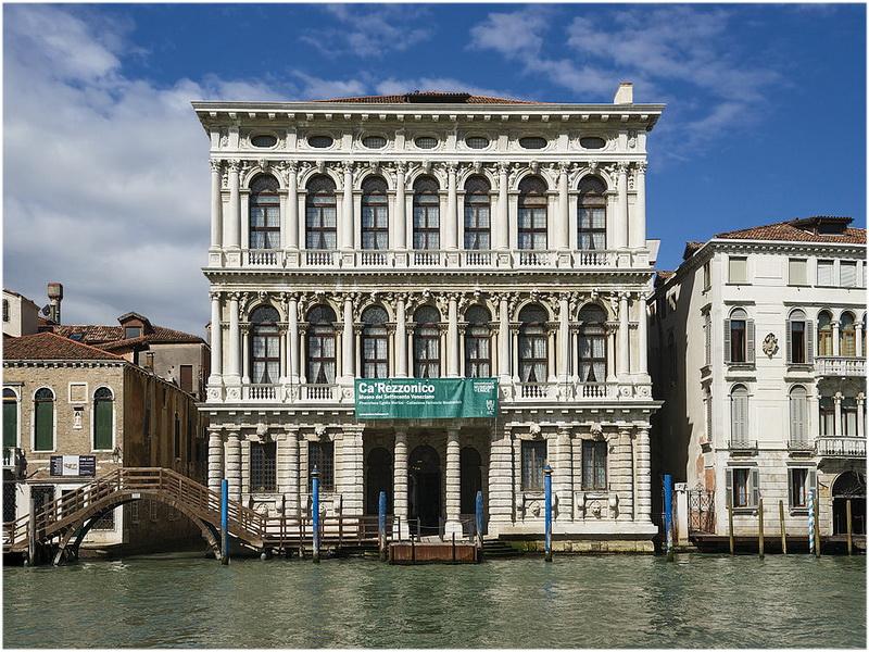 Ca' Rezzonico, Venise, Italie
