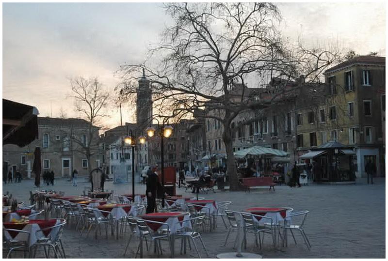 Campo Santa Margherita, Venise, Italie