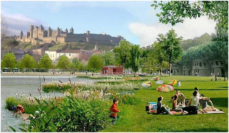 Carcassonne languedoc roussillon france cap voyage for Espaces verts du languedoc