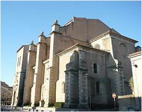 Castres,Tarn, Midi-Pyrenees, France, cathedrale st-benoit