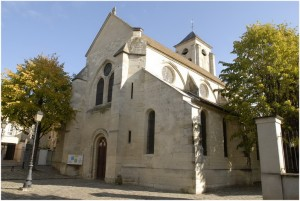 Champigny-sur-Marne,Val-de-Marne, Ile-de-France, France, eglis