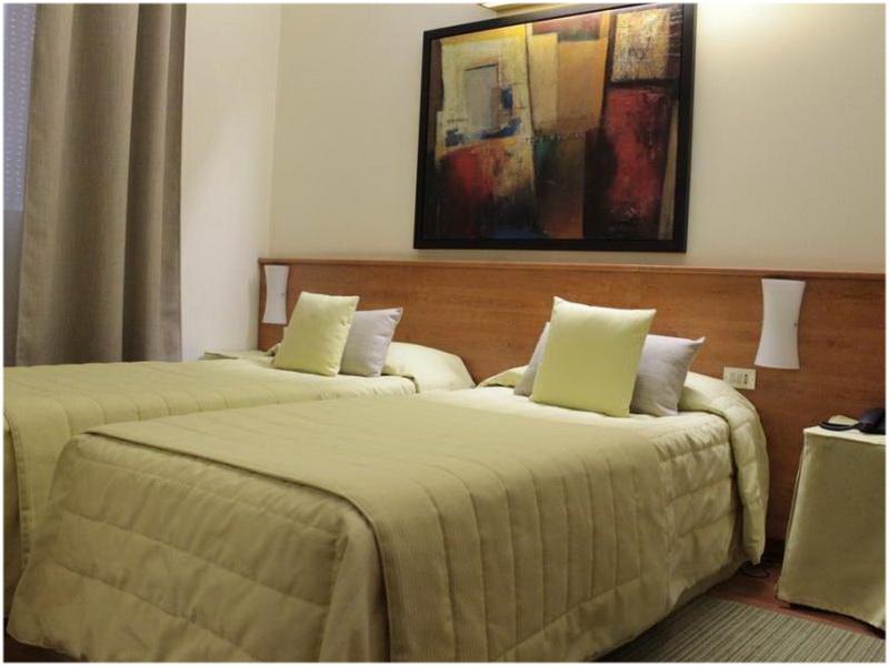 Hotel Bernina, Milan, Italie, Chambres