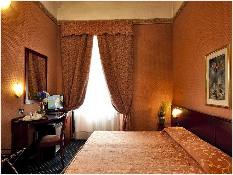 Hotel Cervo, Milan, Italie, Chambres