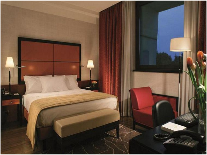 Hotel Crowne Plaza, Malpensa, Milan, Italie, Chambres