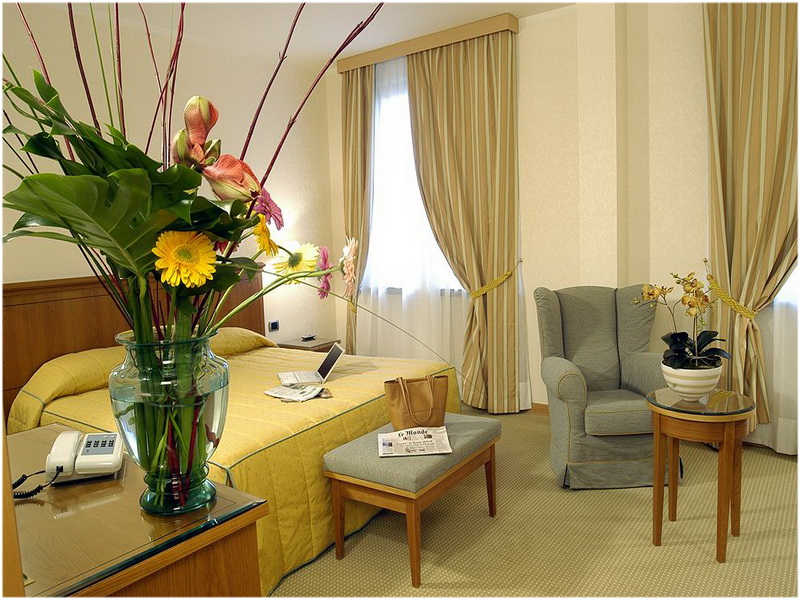 Hotel Excelsior, Magenta, Milan, Italie, Chambres