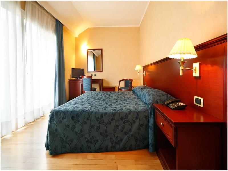 Hotel Terminal, Milan, Italie, Chambres