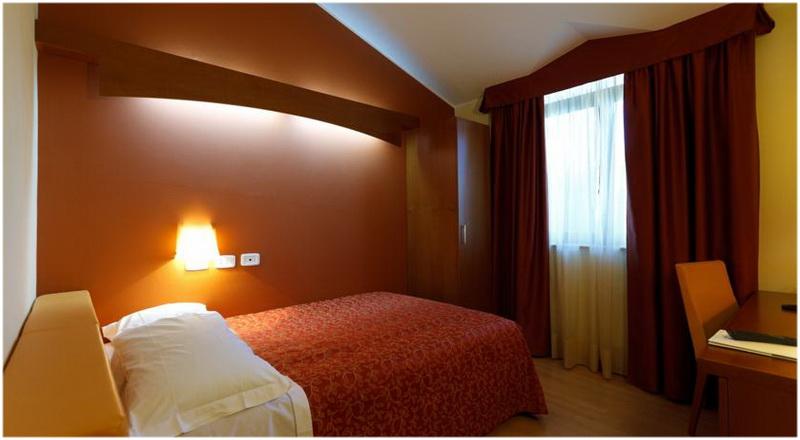 Hotel Villa delle Rose, Milan, Italie, Chambres