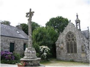 La région de Bretagne, France, patrimoine-chapelle