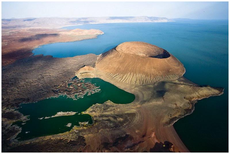 Lac Turkana, au Kenya