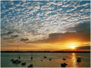Morbihan, Bretagne, France, climat et nature