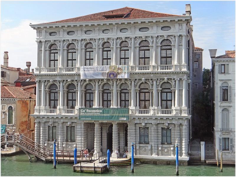 Palais Ca' Rezzonico, Venise, Italie