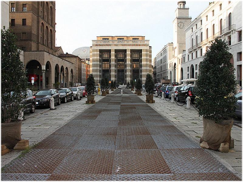 Piazza della Vittoria, Brescia, Itale
