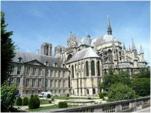 Reims,Marne, Champagne-Ardenne, France, cthedrale notre dame