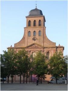 Saint-Louis,Haut-Rhin, Alsace, France, eglise st-louis