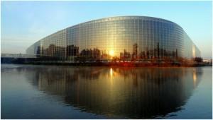 Strasbourg,Bas-Rhin,Alsace, France, parlement europeen