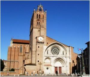 Toulouse,Haute-Garonne, Midi-Pyrénées,France, cathedrale s