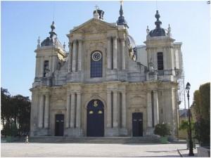 Versailles,Yvelines, Île-de-France, France, cathedrale st-lou