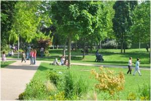Villejuif,Val-de-Marne, Île-de-France, France, parc