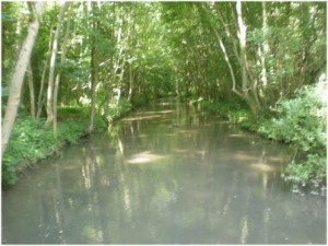 Etouy, Oise, Picardie, France, nature et hydrographie