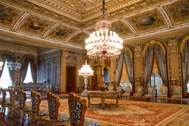 Le Palais De Beylerbeyi Istanbul Turquie Cap Voyage