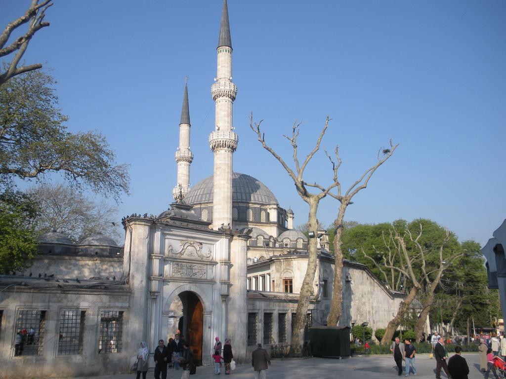 La mosquée d'Eyup sultan