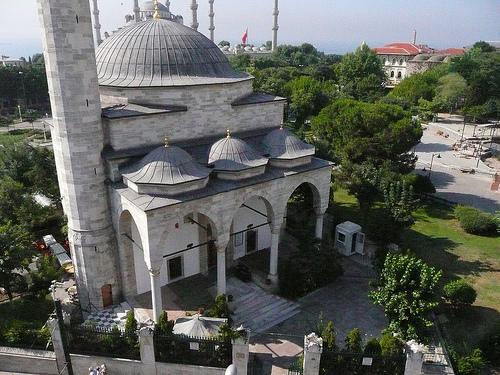 La mosquée de l'Agha Firuz