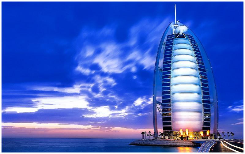 Burj Al Arab hôtel, Dubaï.