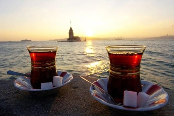 Le thé ou çay – cuisine turque