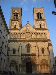 Chatellerault,laVienne, Poitou-Charentes, France, eglise st-
