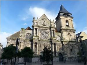 Dieppe,Seine-Maritime, Haute-Normandie, France, eglise st-remy