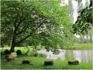 Ermenonville,Oise, Picardie, France, parc Rousseau