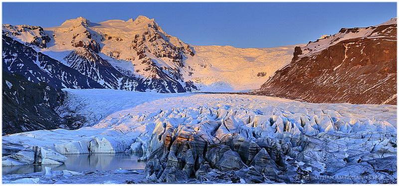 Glacier de Svínafellsjökull