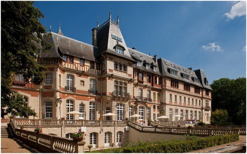 Gouvieux,Oise, Picardie, France, chateau de montvillargenne