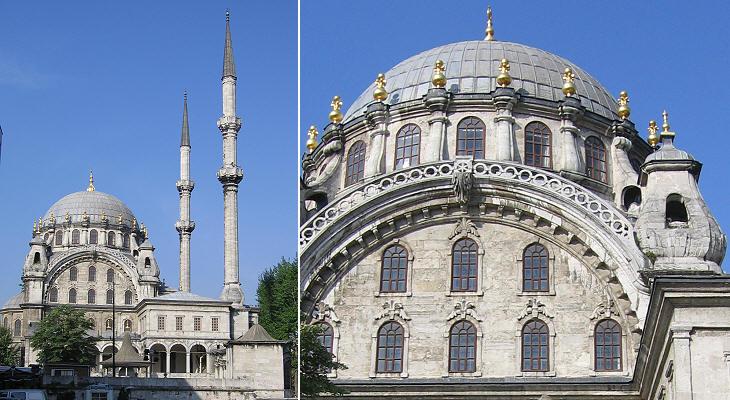 La Mosquée Nusretiye, Istanbul, Turquie