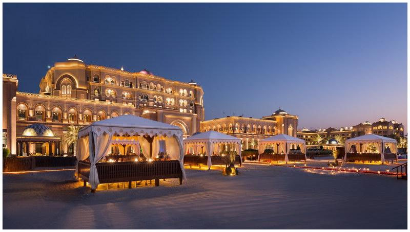 L'Emirates Palace, Abu Dhabi, Emirates Arabes Unis..